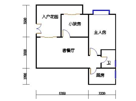 9栋3-10层标准01单元