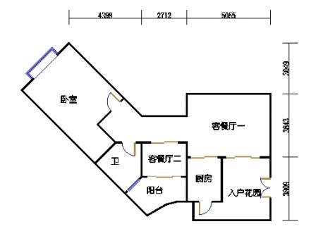 9栋3-10层标准03单元