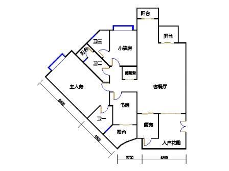 9栋3-10层合并03、04单元