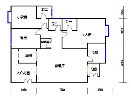 10栋3-10层合并03、04单元