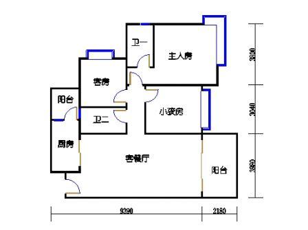A8栋2-15层04单元
