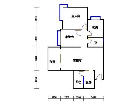 A12栋2-17层03单元