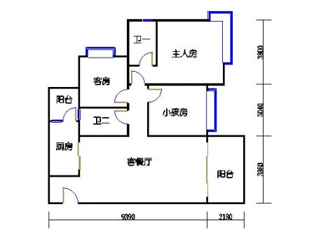 A12栋2-17层05单元