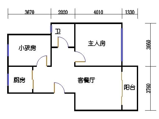 13栋3单元6楼