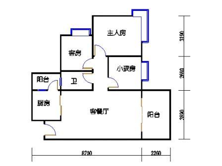 D5栋4层01单元