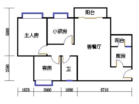 D5栋4层06单元