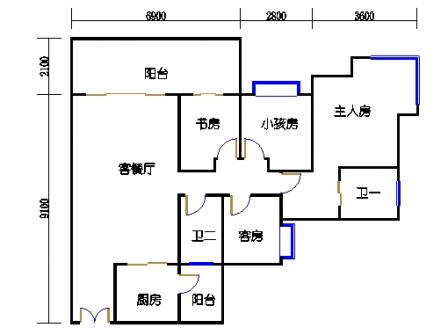 9栋32楼