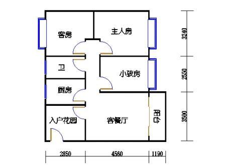 揽园锦轩5-3-601