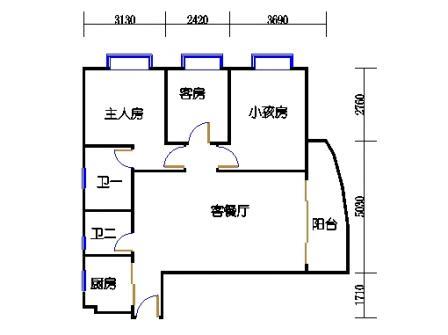 Ⅰ座6层01单元