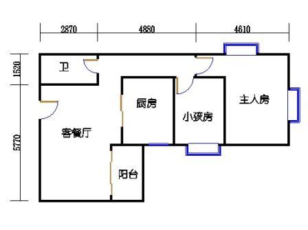 Ⅰ座6层02单元
