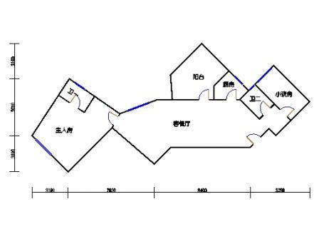 Ⅰ座6层06单元
