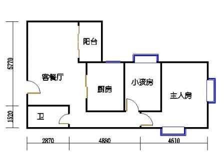 Ⅰ座7-12层03单元