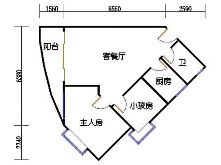 Ⅰ座7-12层05单元