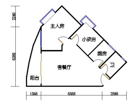 Ⅰ座7-12层08单元
