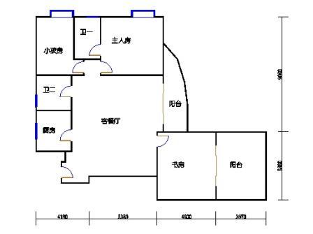 Ⅰ座13-16层01单元