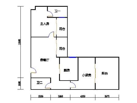 Ⅰ座13-16层02单元