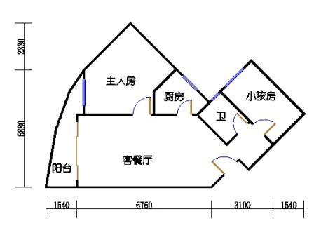 Ⅰ座13-16层05单元