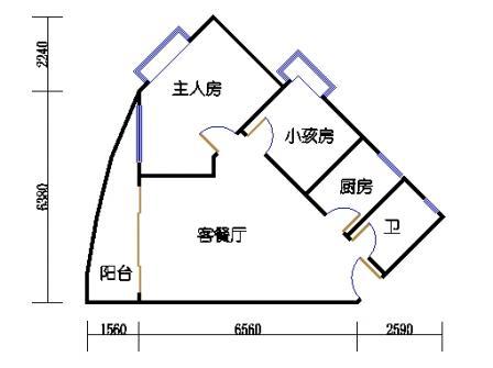 Ⅰ座13-16层07单元