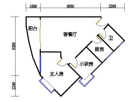 Ⅰ座17-26层03单元