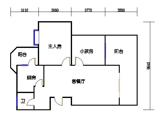 B2户型4-10