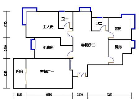 6幢D1(801室)