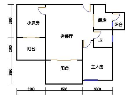 凤馨苑2期14号楼1层1号03单元