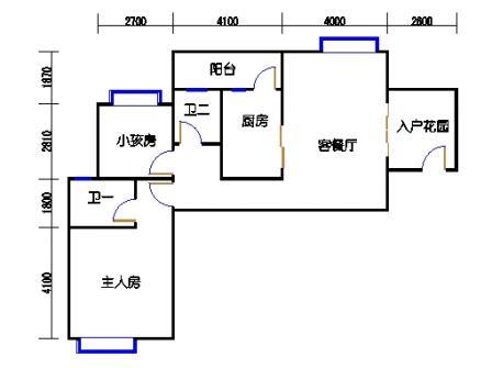 凤馨苑2期14号楼2层1号02单元