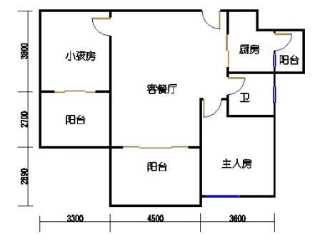 凤馨苑2期14号楼2层1号03单元