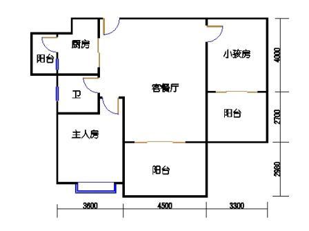 凤馨苑2期14号楼2层1号04单元