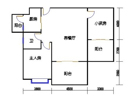 凤馨苑2期14号楼2层2号04单元