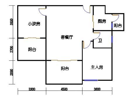 凤馨苑2期14号楼2层3号03单元