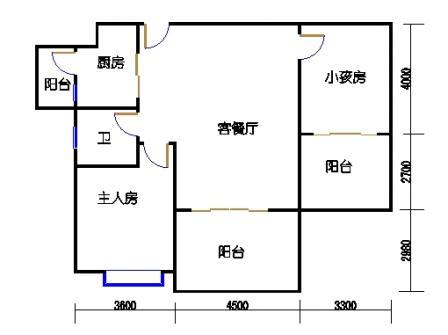 凤馨苑2期14号楼2层3号04单元