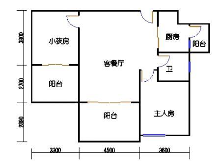 凤馨苑2期14号楼3层3号03单元