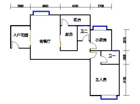 凤馨苑2期14号楼4层2号01单元