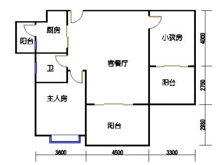 凤馨苑2期14号楼4层2号04单元