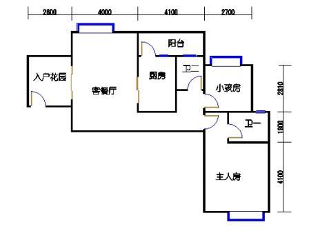凤馨苑2期14号楼4层3号01单元