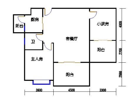 凤馨苑2期14号楼4层3号04单元
