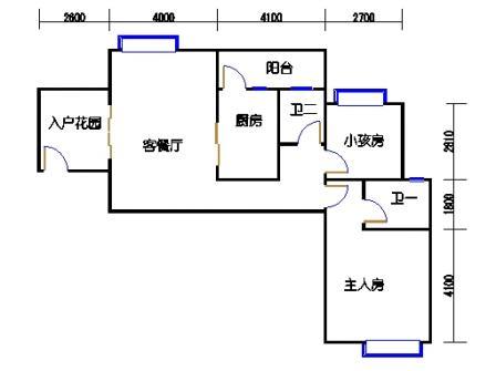 凤馨苑2期14号楼4层4号01单元