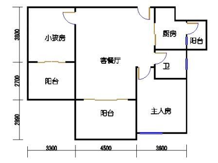 凤馨苑2期14号楼4层4号03单元