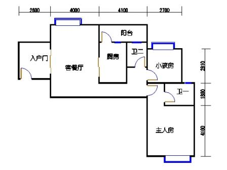 凤馨苑2期14号楼5、7层1号01单元