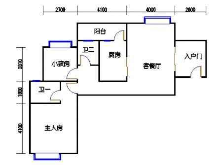 凤馨苑2期14号楼5、7层1号02单元