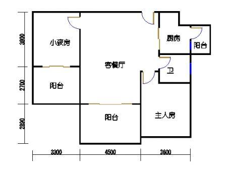 凤馨苑2期14号楼5、7层1号03单元