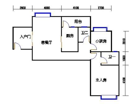 凤馨苑2期14号楼5、7层2号01单元