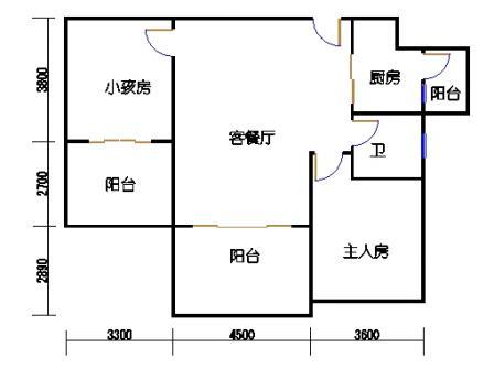 凤馨苑2期14号楼5、7层3号03单元