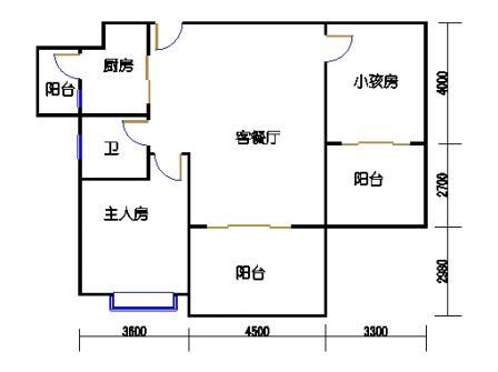 凤馨苑2期14号楼5、7层3号04单元