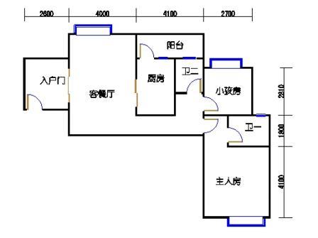 凤馨苑2期14号楼5、7层4号01单元