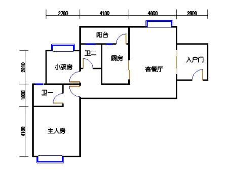凤馨苑2期14号楼5、7层4号02单元