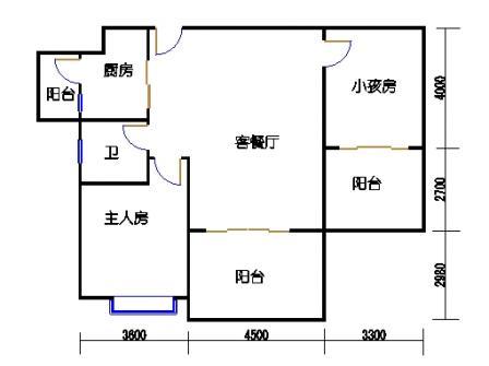 凤馨苑2期14号楼6、8层1号04单元