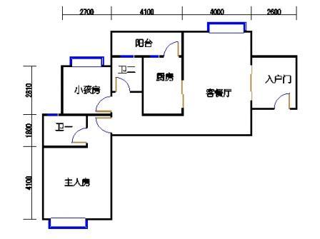 凤馨苑2期14号楼6、8层2号02单元