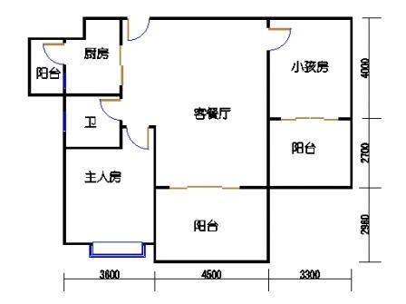 凤馨苑2期14号楼6、8层2号04单元